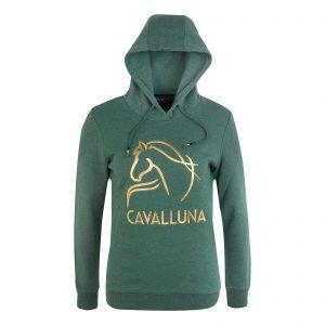 Cavalluna-Hoody-grün-gold