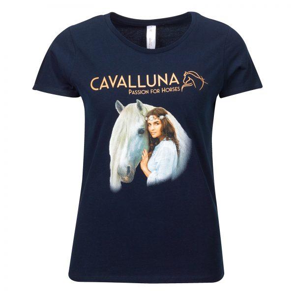 T-shirt-Welt der Fantasie-Cavalluna